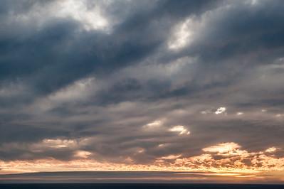Cloudy Sky, Caldera, Chile