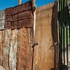 Metal Fence, San Pedro, Chile