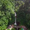 Catarata de la Paz from the air