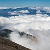 Clouds from the Top of Vulcano Irazu