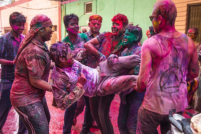 Holi Festival - Vrindivan