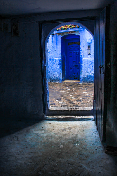 Door to Chefchaouen