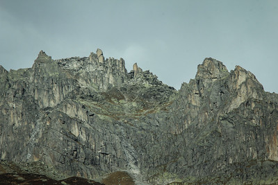 Mighty alpine peak