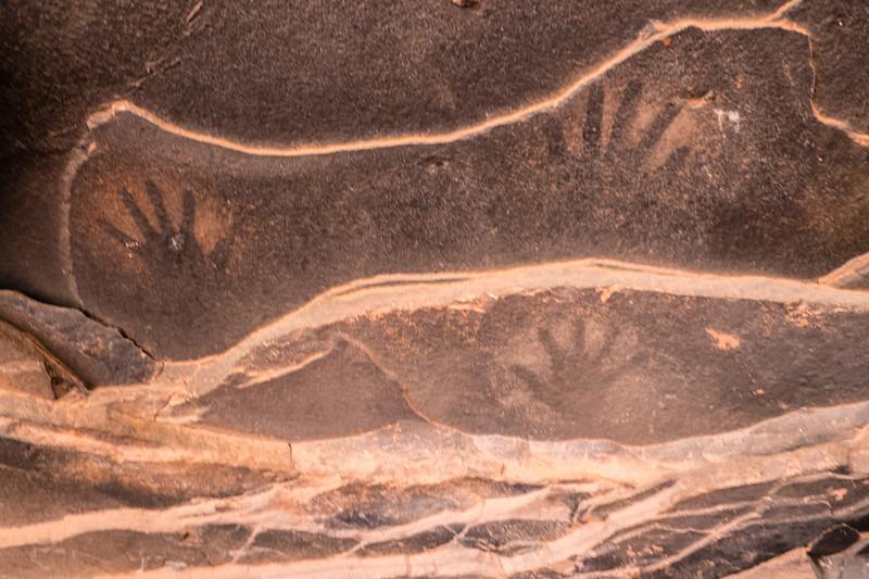 Pictoglyph on Cedar Mesa