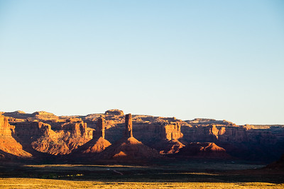 Early Morning in the Valley of the Gods