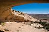 View from an Anasazi Ruin looking towards Tank Mesa
