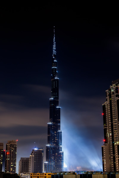 Burj Khalifa, New Years Eve 2012-2013 Fireworks