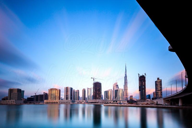 Burj Khalifa Long Exposure 2