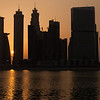 Another beautiful sunset in Dubai, Business Bay.