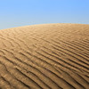 An untouched and clean dune in one of massive's United Arab Emirates (UAE) deserts.
