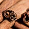 Macro shot of cinnamon rolls in Dubai's Spice Souq.