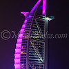 Colourful Burj Al Arab