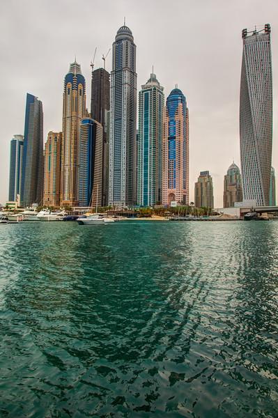 Dubai Marina, HDR.