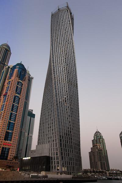Infinity Tower, Dubai Marina.