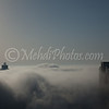 Dubai (Executive Towers) in Fog.
