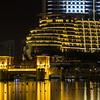 Dubai Mall Fountain, Burj Khalifa. The Address Hotel.