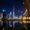 Burj Khalifa LED light painting - UAE flag