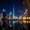 Burj Khalifa LED light painting - KSA flag