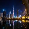 Burj Khalifa LED light painting - Happy New Year 2015