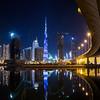 Burj Khalifa LED light painting - EXPO 2020