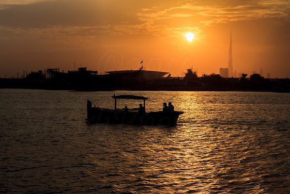 Dubai Creek & Sunset