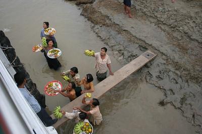 Fruit Vendors, Irrawady River