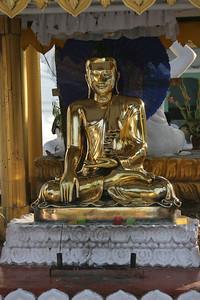 Gilded Buddha, Shwedagon Paya, Rangoon