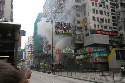 Hotel Fire, Nathan Road, Kowloon