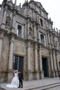 Casamento-Ruinas do Sao Paulo Wedding- St. Paul's Macau SAR
