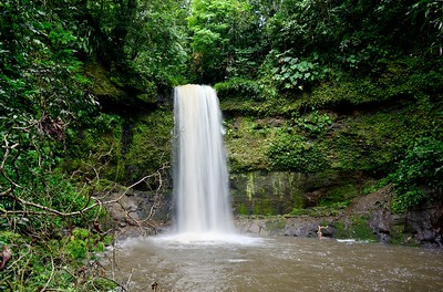 Waterfall in the Ecuadorian Jungle