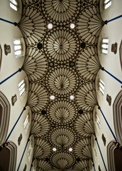 The Celling of St Johns Episcopal Church