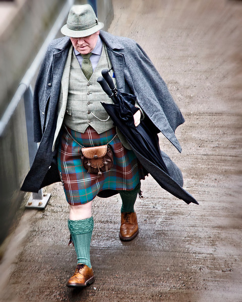 Full Dressed Scotsman