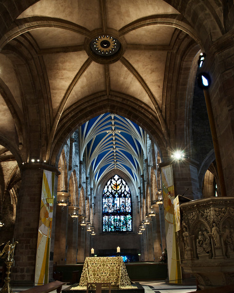 St Giles' Cathedral, High Kirk of Edinburgh.