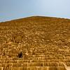 The pyramids at Giza.