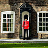 Queens Guard, Tower of London, Queens House (she wasn't there however he was very serious.)