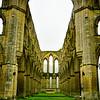 Rievaulx Abbey ruins near Helmsley, England