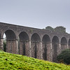 Dukes Drive Viaduct, Buxton, England - 13 arches, built 1890 serving highest rail line in England. Still in use.