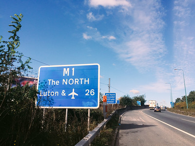 Well..we needed to go north.. Question: M1 or A1?? Answer: whichever is closer :P