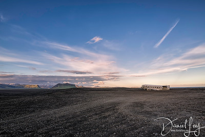 Icelandic Plane Wreckage