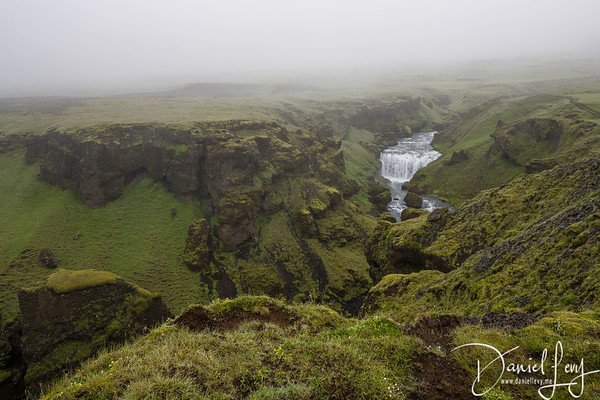 Up in the Clouds of Skógafoss