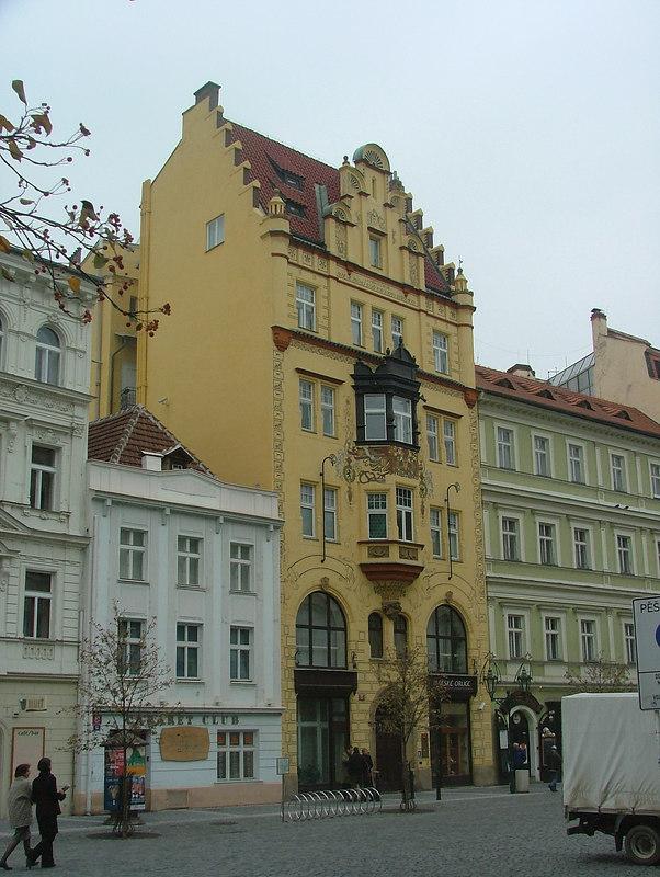 Prague Art Nouveau