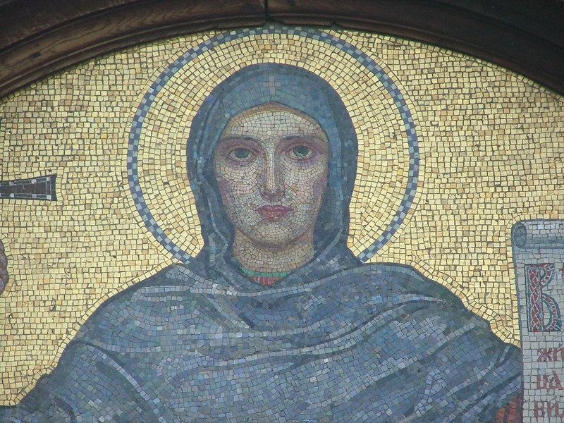 Mosaic, Svata Nedele Church, Sofia