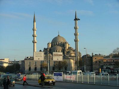 Yeni Camii from Eminonu Waterfront
