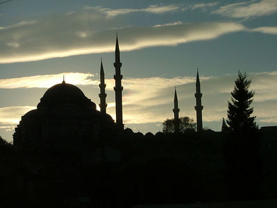 Yeni Camii Silhouette