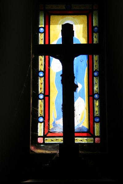 Illuminated Cross, Montmartre