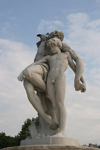 Nude Statues, The Tuileries Gardens