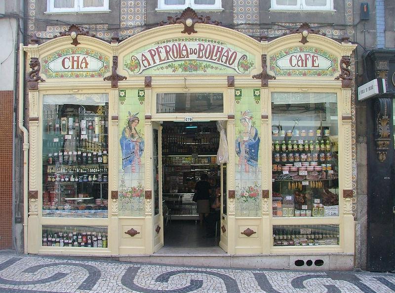 Coffee and Tea Store, near Mercado do Bolhao
