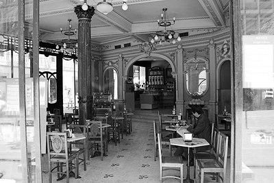 """The Old """"A Brasileira"""" Cafe"""