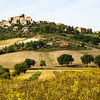 Tuscan hill town, Tuscan, Italy