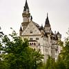 Newschwanstein Castle near Fussen, Germany.